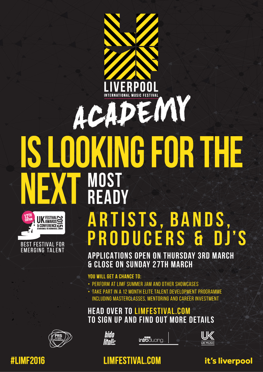 Applications for the award-winning LIMF Academy 2016