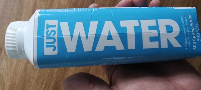Just Water - renewable content