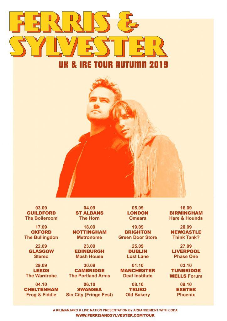 FERRIS & SYLVESTER UK TOUR