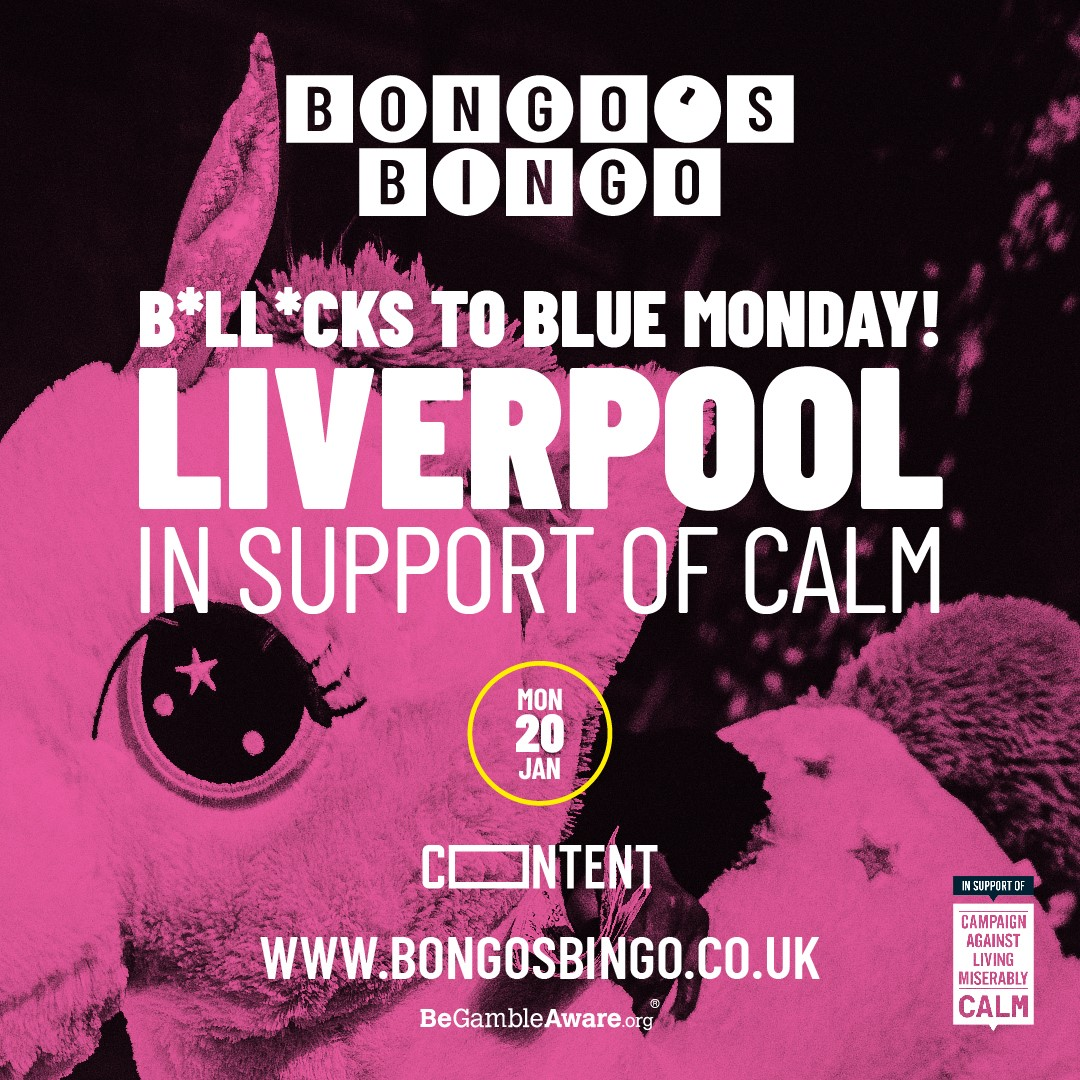 Bongo's Bingo says Bollocks to Blue Monday